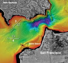 Map Of San Francisco Area by New Maps Reveal Seafloor Off San Francisco Area