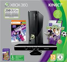 xbox one console with kinect amazon in video games xbox 360 250gb console with kinect sensor includes kinect sports