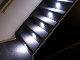 Interior Stair Lights Gallery Reactive Lighting Automated Led Stair Lighting