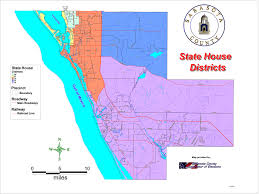 Sarasota Zip Codes Map by District Voting Maps Sarasota County Democratic Party