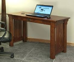 mission oak corner computer desk office computer desk compact standing desk medium size of office