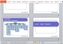 microsoft presentation planner template free business plan