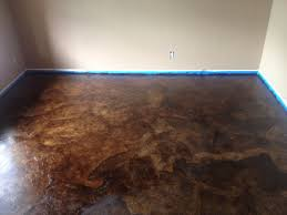Diy Laminate Flooring On Concrete Diy Paper Bag Floors That Look Like Stained Concrete Paper Bag
