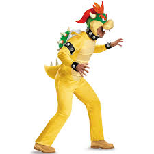 party city halloween costumes locations super mario deluxe bowser costume for adults buycostumes com