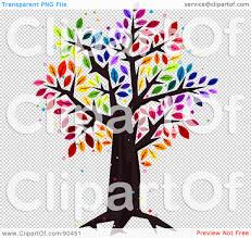 royalty free rf clipart illustration of a sparkly tree with