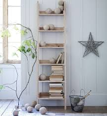 casual white leaning bookcase doherty house fashionable white