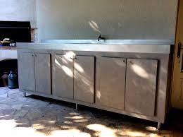 meuble cuisine d été table beton cire com par stuc co meuble cuisine d ete