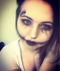 killer doll halloween makeup look youtube