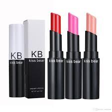 new kiss bear moisturizing lipstick lip care nourishing lip balm