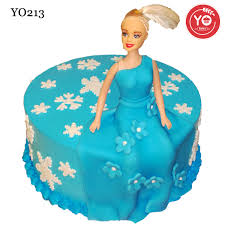doll cake order elsa theme doll cake online same day delivery in hyderabad