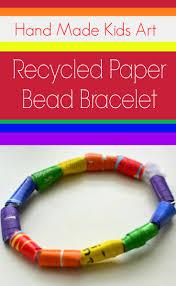 bracelet craft hand images How to make paper bead bracelets jpg