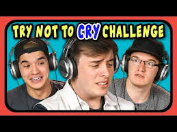 Challenge React Youtubers React To Try Not To Cry Challenge