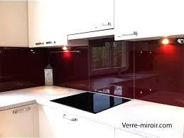 crédences de cuisine en verre laqué sur mesures credence verre trempe cuisine cracdence de cuisine en verre securit