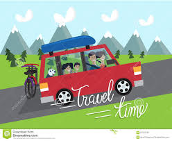 travel time vacation stock vector image of tourism road 67075783