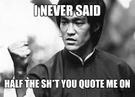 Bruce Lee Meme - bruce lee quotes meme guy