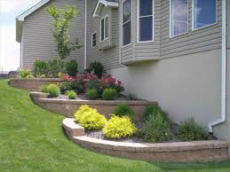 landscaping hillside planting easy landscaping ideas for small