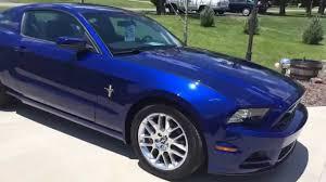 2014 ford mustang pony package 2014 ford mustang premium pkg pony pkg 3k impact blue