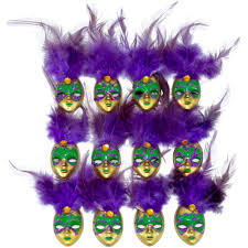 mardi gras pins 2 feather mask pin purple 12 7157 mardi gras