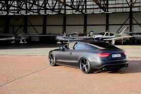 audi a5 modified todays batmobile avus performance audi a5 matt black