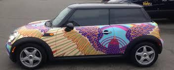 holographic car vancouver car wraps