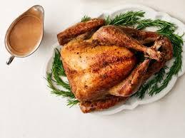 turkey gravy with porcini mushrooms garlic rosemary turkey with porcini recipe food network kitchen