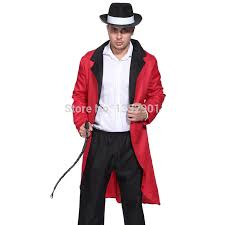 Lion Tamer Halloween Costume Mens Circus Ringmaster Lion Tamer Costume Tuxedo Tail Jacket Coat
