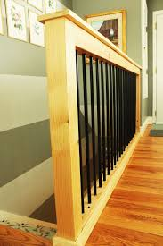 How To Build A Banister For Stairs How To Make A Stair Railing Best 25 Railing Ideas Ideas On