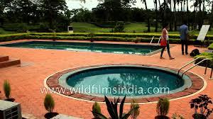 swimming pool area kaziranga golf resort in jorhat assam youtube