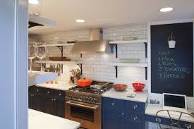 Hague Blue Kitchen Cabinets Design Ideas - Blue painted kitchen cabinets