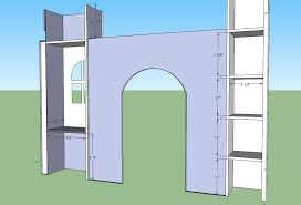 Free Plans For Building Loft Beds by Castle Bunk Beds Ana White Build A Castle Loft Bed Free And