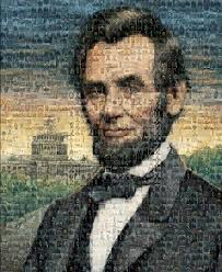 this is a portrait of abe lincoln the out come is beautiful