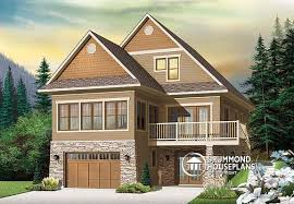 Sloping Lot House Plans Front Sloping Lot House Plans Home Design 2017