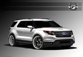 Ford Explorer Body Styles - three modified ford suvs for sema escape and explorer models