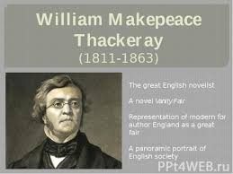 Vanity Fair William Thackeray презентация к уроку английского языка