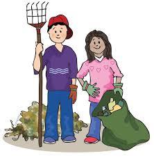 yard clean up clip art 58