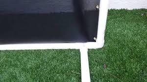 Backyard Golf Nets Diy Golf Net Homemade Indoor Outdoor Golf Net Youtube