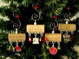 wine cork ornaments peace on earth wine cork