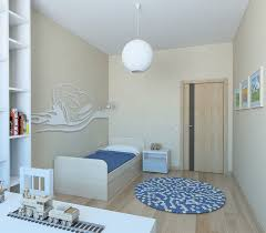 childrens room with wallpaper car 3d model cgtrader