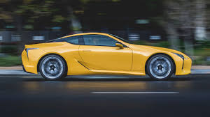 lexus yellow concept come to life radical lexus lc 500 is here iol motoring