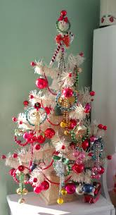 christmas tree with retro paper glass etc including japanese
