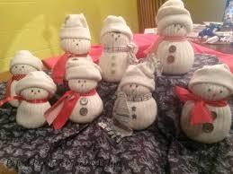 pams practical tips sock snowmen