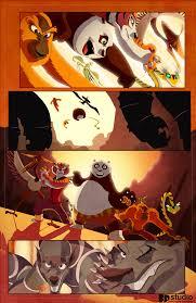 kungfu panda comic fpeniche deviantart animation