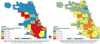 chicago map meme black out of work study explores unemployment crisis in