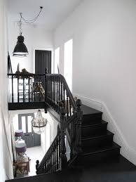 black staircase black stair railing nceresi home