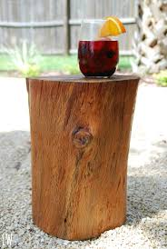 how to make a tree stump table relaxing or useful items pioneer dad and stump coffee table tree