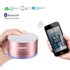 android bluetooth speaker nubwo portable bluetooth speaker with mic speakerphone