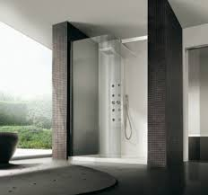 bathroom shower design ideas bathroom simple glass wall shower with white floor base and