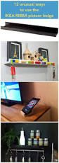 Picture Ledge Ikea 12 Unusual Ways To Use The Ribba Picture Ledge All Round The House