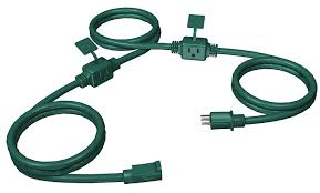 westinghouse 3 outlet in line heavy duty outdoor cord 25