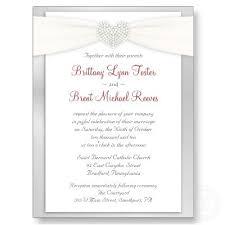 Catholic Wedding Invitations Wedding Invitation Wording Sample Lake Side Corrals